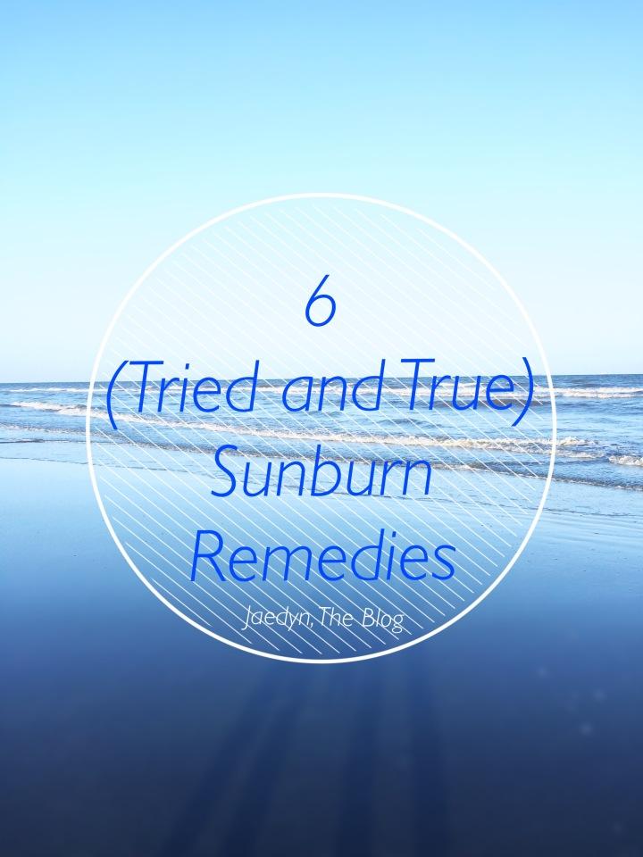 6 Sunburn Remedies